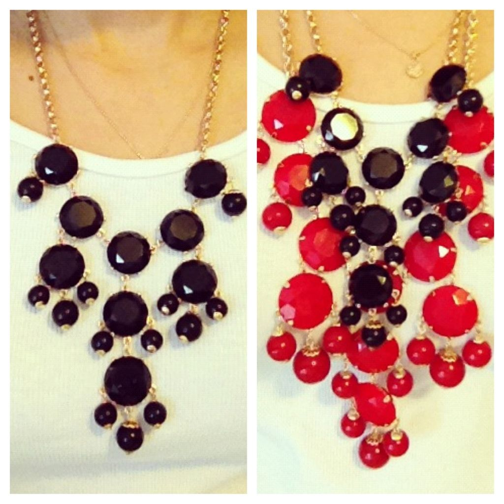J.Crew Bubble Necklace dupe